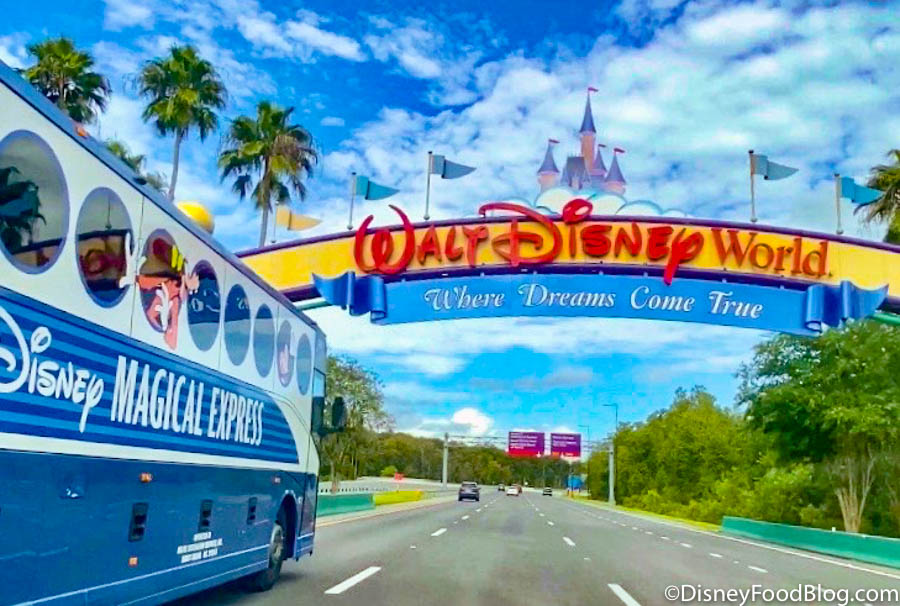 Breaking Disney World S Magical Express Service Will Be Discontinued In 2022 The Food Blog