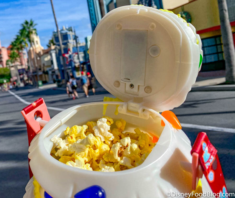 Disney Christmas Popcorn Bucket 2021 Ooooo Look At The Disney Popcorn Bucket We Just Found At Magic Kingdom The Disney Food Blog
