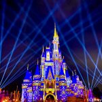 Pics and Video! You MUST See the NEW Holiday Cinderella Castle Projections in Disney World!