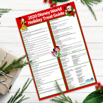 Get Your FREE DFB-Exclusive Printable of ALL the Disney World Holiday Treats Today!