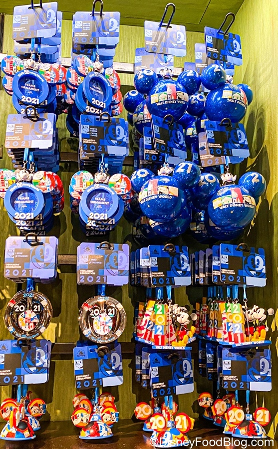 Disney 2021 Christmas Ornament Photos These 2021 Ornaments At Disney World Have Us Ready For The New Year The Disney Food Blog