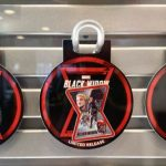 PHOTOS: The Limited Release Black Widow Pins in Disney World Have Us Feeling Heroic