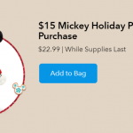 Get a Mickey or Minnie Plush for $15 With ANY Online Disney Purchase!