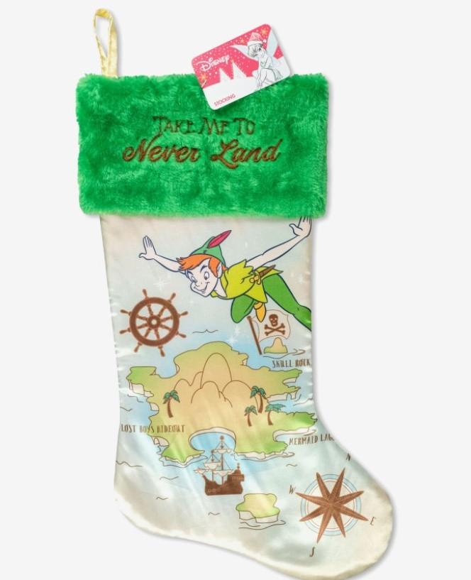 Disney Peter Pan Inspired Christmas Stocking