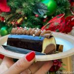 Review! Disney World's Bûche de Noël is LOADED with Chocolate…and Not Much Else!