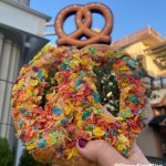 Review! Is This Limited Time Rainbow Colored Pretzel at Downtown Disney TOO Sweet or Just Sweet Enough?!