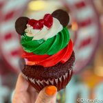 Review: This Tasty Red Velvet Cupcake Got a Holiday Makeover in Disney World!
