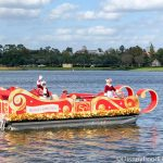 PHOTOS AND VIDEO! Santa and Mrs. Claus Make Magic By Boat in Disney Springs