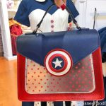 Take Some Fashion Inspo from Cap With This NEW Marvel Inspired Dress and Purse in Disney World!