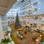 PHOTOS! The Tree Is Up at Disney's Grand Floridian Resort