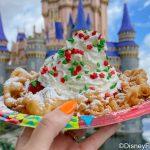 REVIEW! The Fa La La Funnel Cake Is Delish And Insta-Worthy in Disney World
