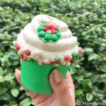 Review! Did the Eggnog Cupcake in Disney World Make it On the Nice List?