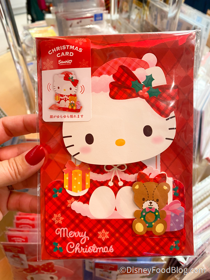Hello Kitty Snow Globe 2020 Christmas Small Figure Ornament Gift Sanrio Japan