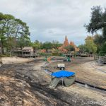 Weekly Construction Update: Kilimanjaro Safaris Building Sees BIG Progress and Walls Come Down in Disney Springs!