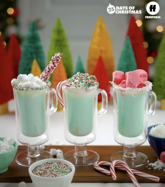 Spiked Grinch Hot Chocolate