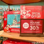 Save BIG on Select Holiday Merchandise in Disney World! Get ALL the Details HERE!