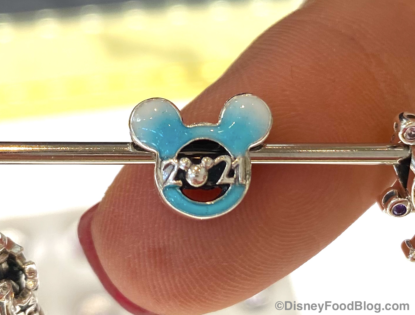 Ring in the New Year with this 2021 Pandora Charm in Disney World ...