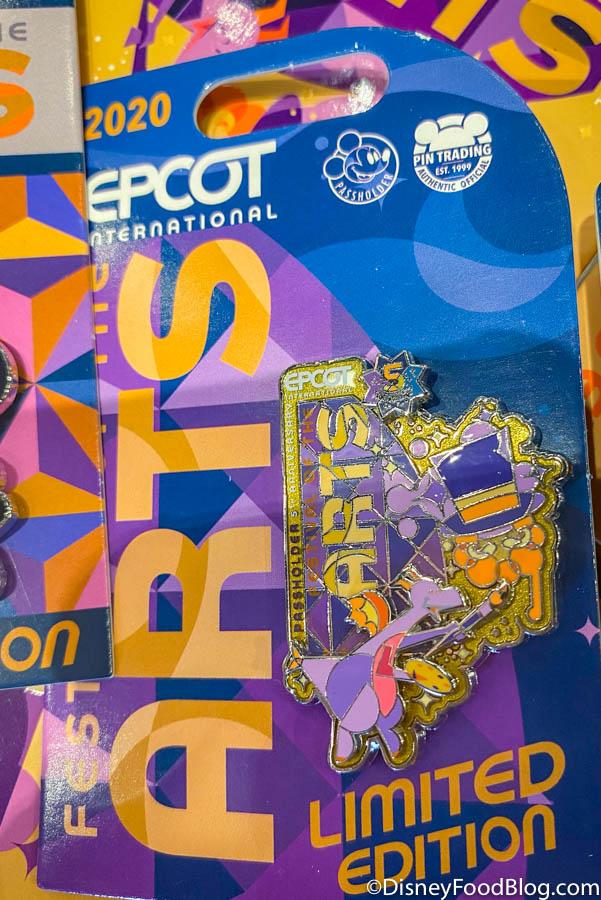 Disney 2021 Epcot Festival Of The Arts 5th Anniversary Figment Palette Plate