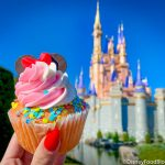 Review: There's a Surprising NEW Cupcake Flavor in Magic Kingdom!