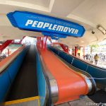 PHOTOS & VIDEO: Real PEOPLE Were On the PeopleMover in Disney World Today!