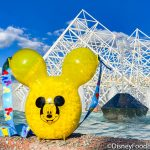 PICS: A Yellow Mickey Balloon Popcorn Bucket Is Now Available in Disney World!
