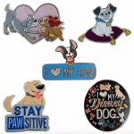 Pin Sets Are a Part of the Massive Disney Dogs and Cats Collection Online!