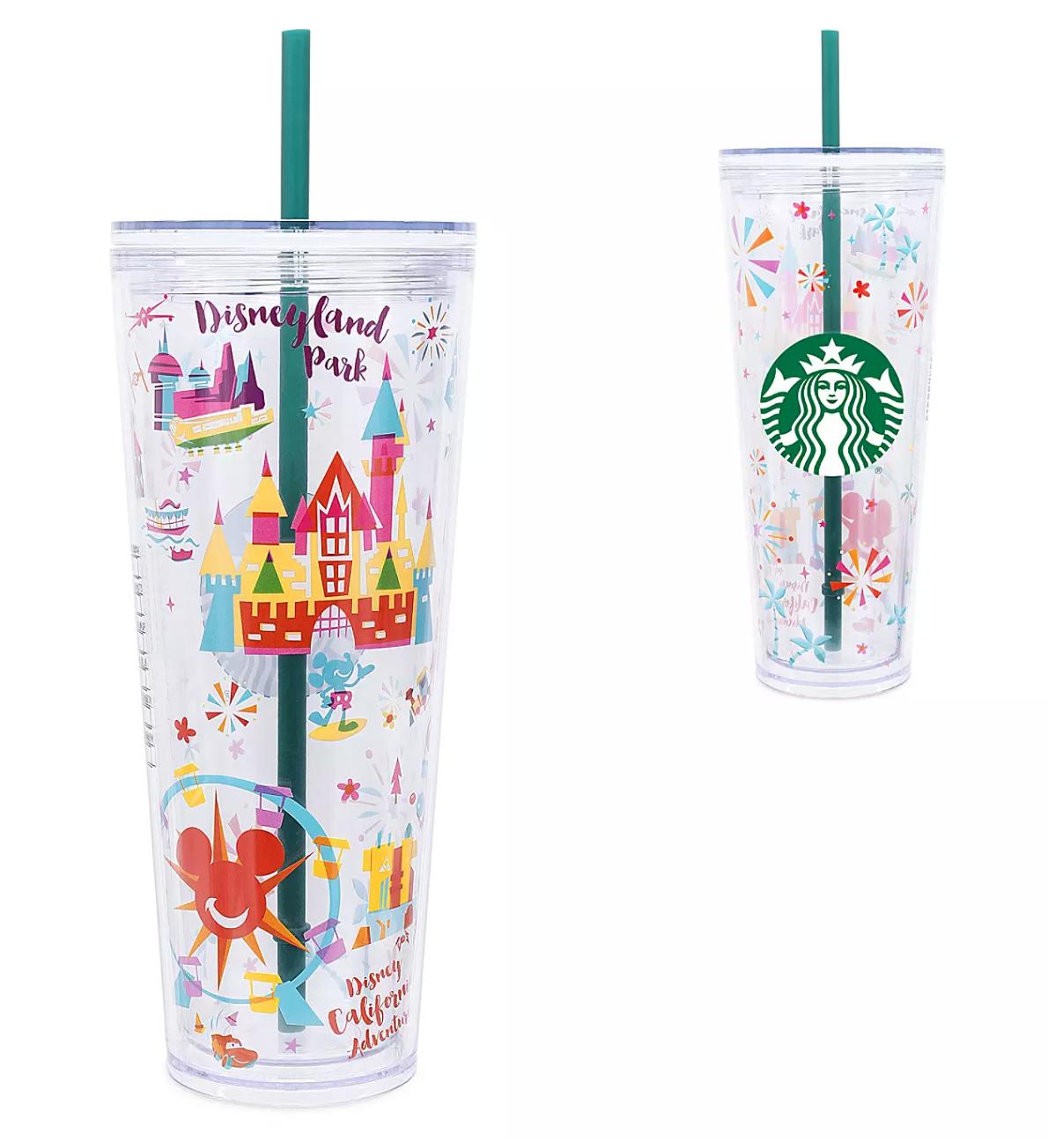Starbucks Just Released a NEW Disneyland-Themed Tumbler!   the disney food blog