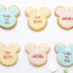 Disney RECIPE: Mickey Sweetheart Cookies!