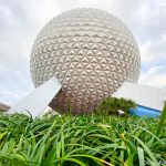 PHOTOS: The Area Around Spaceship Earth in EPCOT is FINALLY Construction Wall Free