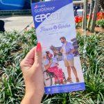 NEW Flower & Garden Festival Map Arrives in EPCOT