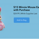 Get an Easter Plush for $15 With ANY Online Disney Purchase!