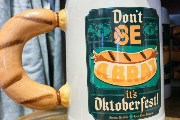 A Disney World Souvenir That's All About Beers and Brats