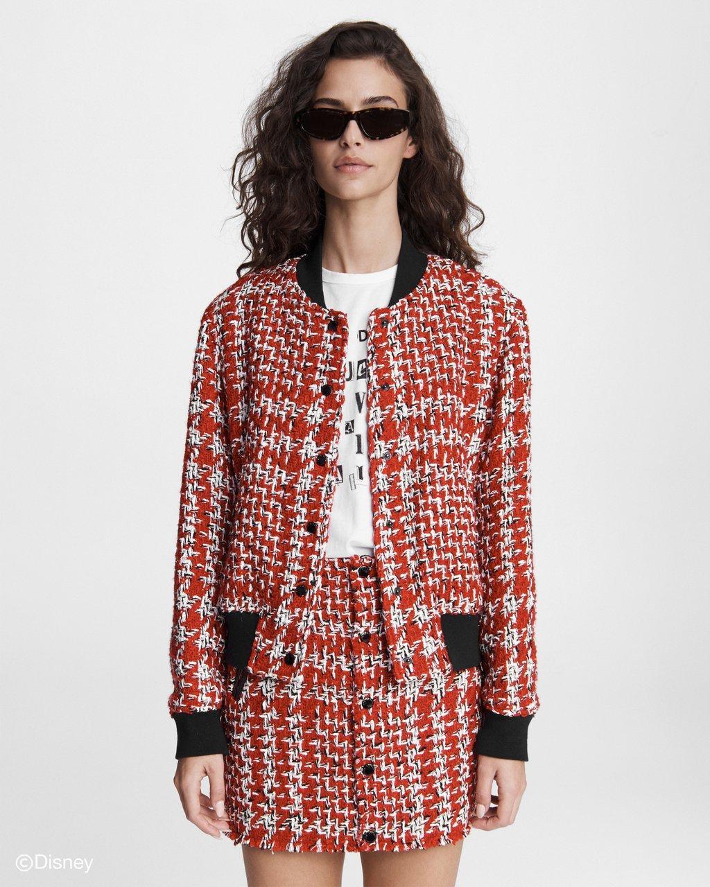 Rag-&-Bone-Cruella-collection-red-tweed-jacket-and-skirt